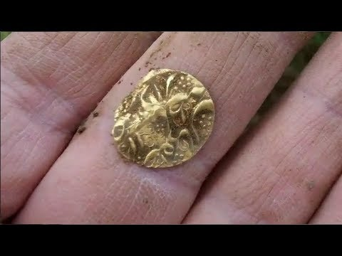 Metal Detecting UK – My first Gold coin!!