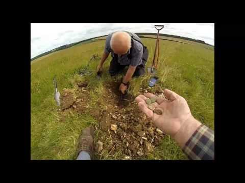 Celtic Silver Stater Hoard Metal Detecting Find