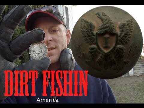 Dirt Fishin America Episode 5: BIG SILVER coins and ghost town treasures!