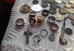 "METAL DETECTING GERMANY: THE ""MONEY SPOT"" GIVES UP TEN RINGS IN TWO DAYS!"