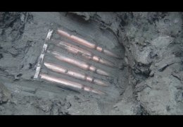 Excavations of German dugout WWII № 10